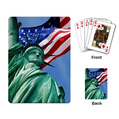 Statue Of Liberty, New York Standard Playing Cards by artposters