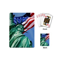 Statue Of Liberty, New York Playing Cards (mini) by artposters