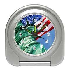 Statue Of Liberty, New York Desk Alarm Clock by artposters