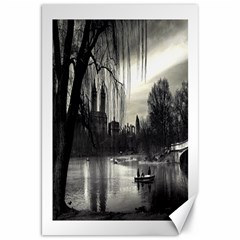 Central Park, New York 20  X 30  Unframed Canvas Print by artposters
