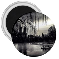 Central Park, New York Large Magnet (round)