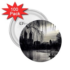 Central Park, New York 100 Pack Regular Button (round) by artposters