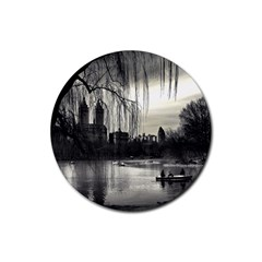 Central Park, New York 4 Pack Rubber Drinks Coaster (round) by artposters
