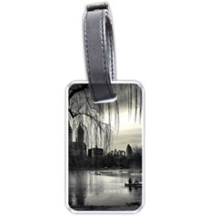 Central Park, New York Single Sided Luggage Tag by artposters