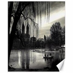 Central Park, New York 11  X 14  Unframed Canvas Print
