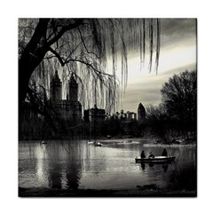 Central Park, New York Face Towel by artposters
