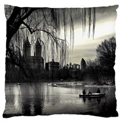Central Park, New York Large Cushion Case (two Sides) by artposters