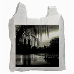 Central Park, New York Single Sided Reusable Shopping Bag by artposters