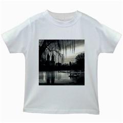 Central Park, New York White Kids'' T Shirt