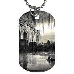 Central Park, New York Single Sided Dog Tag by artposters
