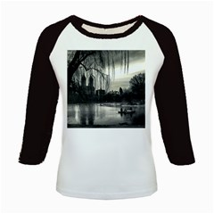 Central Park, New York Long Sleeve Raglan Womens'' T Shirt by artposters