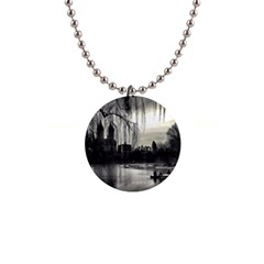 Central Park, New York Mini Button Necklace
