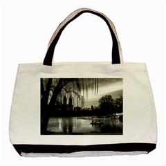Central Park, New York Black Tote Bag