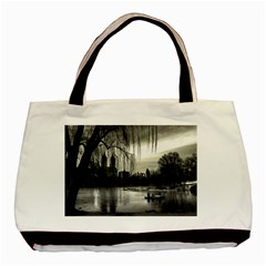 Central Park, New York Twin Sided Black Tote Bag by artposters