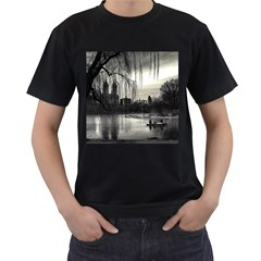 Central Park, New York Black Mens'' T Shirt by artposters