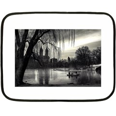 Central Park, New York Twin Sided Mini Fleece Blanket