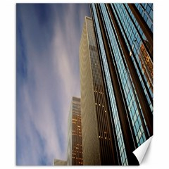 Skyscrapers, New York 8  X 10  Unframed Canvas Print by artposters