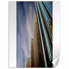 Skyscrapers, New York 18  X 24  Unframed Canvas Print by artposters