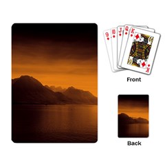 Waterscape, Switzerland Standard Playing Cards by artposters