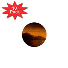 Waterscape, Switzerland 10 Pack Mini Button (round) by artposters