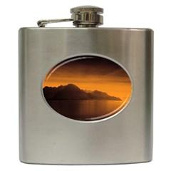 Waterscape, Switzerland Hip Flask by artposters