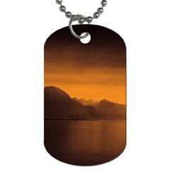 Waterscape, Switzerland Twin Sided Dog Tag