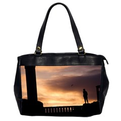 Vigeland Park, Oslo Twin Sided Oversized Handbag by artposters
