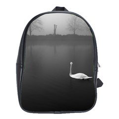 Swan Large School Backpack by artposters