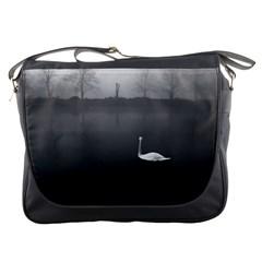 Swan Messenger Bag
