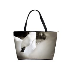 Swan Large Shoulder Bag by artposters