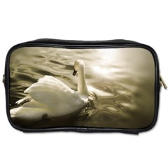 Swan Single Sided Personal Care Bag by artposters