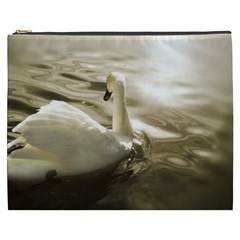 Swan Cosmetic Bag (xxxl) by artposters