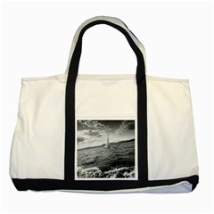 Sailing Two Toned Tote Bag