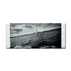 Sailing Hand Towel by artposters