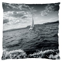 Sailing Large Cushion Case (one Side)