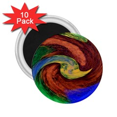 Culture Mix 10 Pack Regular Magnet (round)