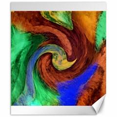Culture Mix 20  X 24  Unframed Canvas Print by dawnsebaughinc