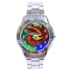 Culture Mix Stainless Steel Analogue Watch (round) by dawnsebaughinc