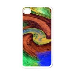 Culture Mix White Apple Iphone 4 Case by dawnsebaughinc