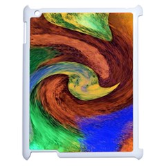 Culture Mix Apple Ipad 2 Case (white) by dawnsebaughinc