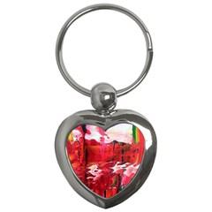 Decisions Key Chain (heart)