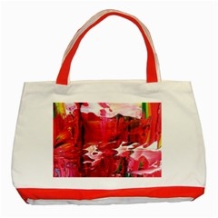 Decisions Red Tote Bag by dawnsebaughinc