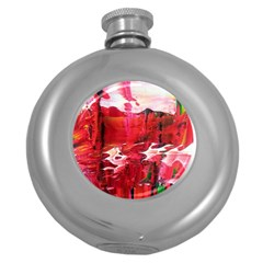 Decisions Hip Flask (round) by dawnsebaughinc