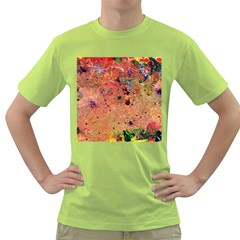 Diversity Green Mens  T Shirt by dawnsebaughinc