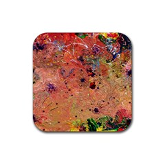 Diversity Rubber Drinks Coaster (square) by dawnsebaughinc