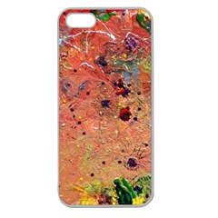 Diversity Apple Seamless Iphone 5 Case (clear) by dawnsebaughinc