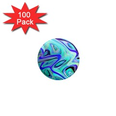 Easy Listening 100 Pack Mini Magnet (round) by dawnsebaughinc