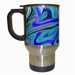 Easy Listening White Travel Mug by dawnsebaughinc