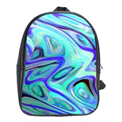 Easy Listening Large School Backpack by dawnsebaughinc