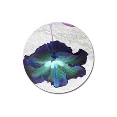 Exotic Hybiscus   Large Sticker Magnet (round) by dawnsebaughinc